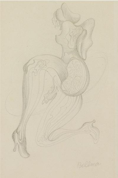 Bellmer dessin 1949