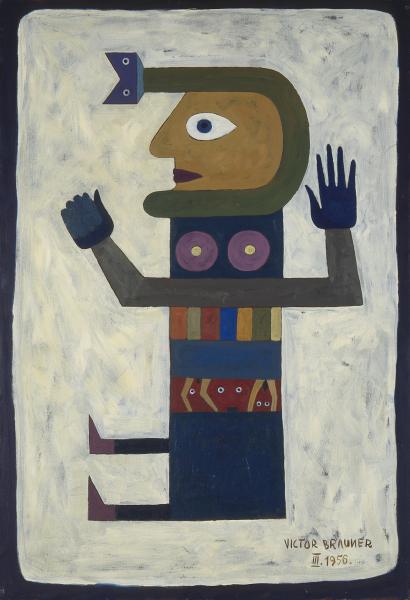 Brauner, L'Emotion immobile, 1956