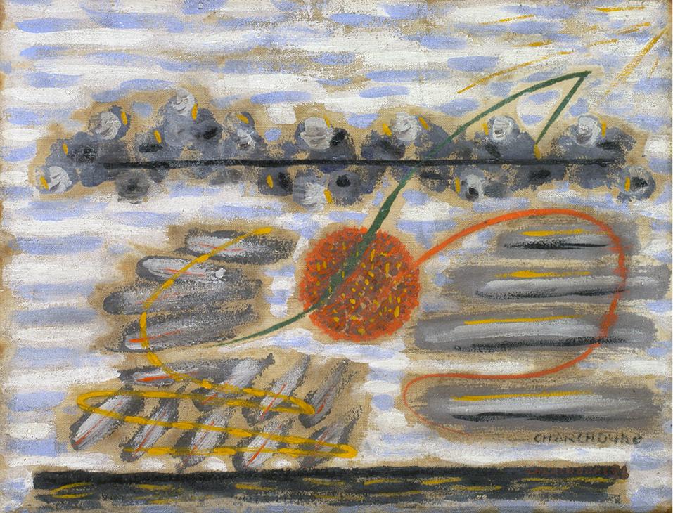 Charchoune le soleil 1928