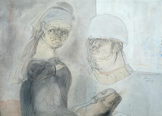 Cuevas, El Matrimonio de los Arnolfini, 1977