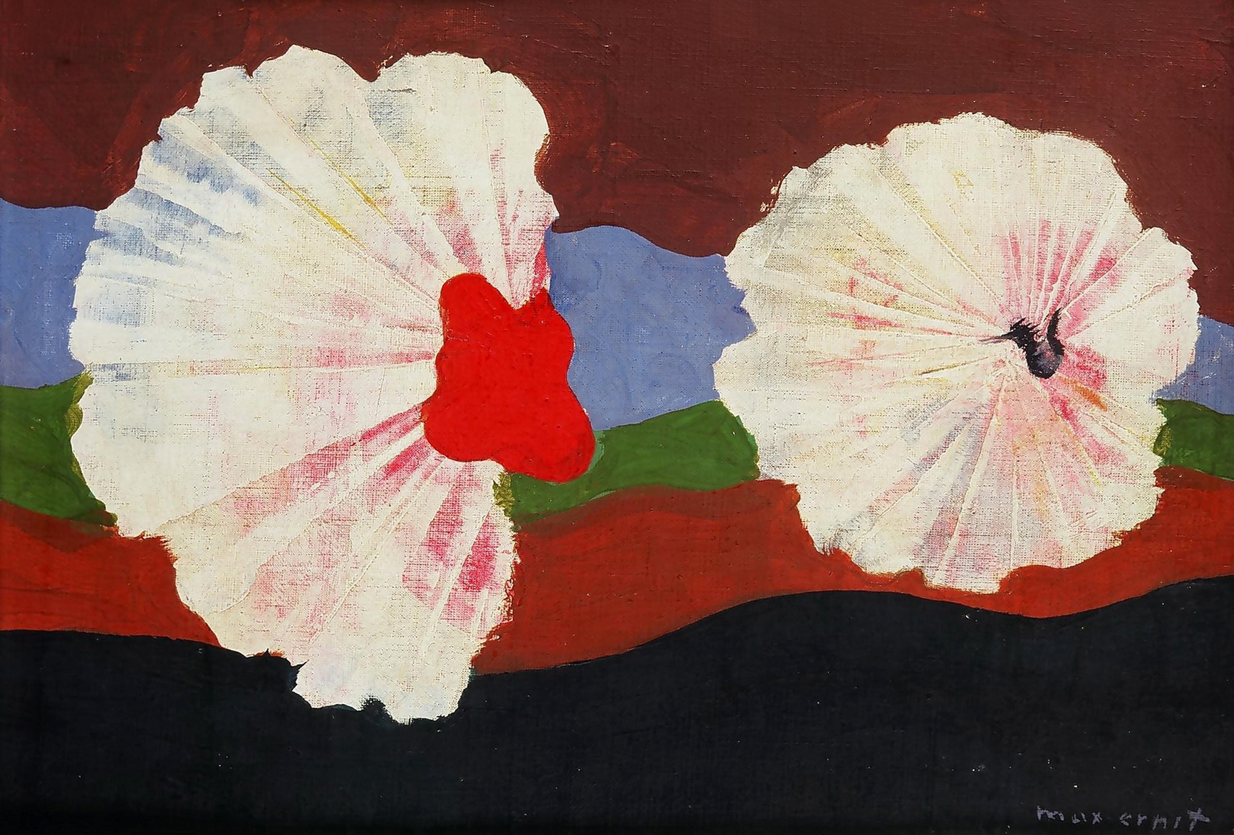 Fleurs-coquillages, 1932