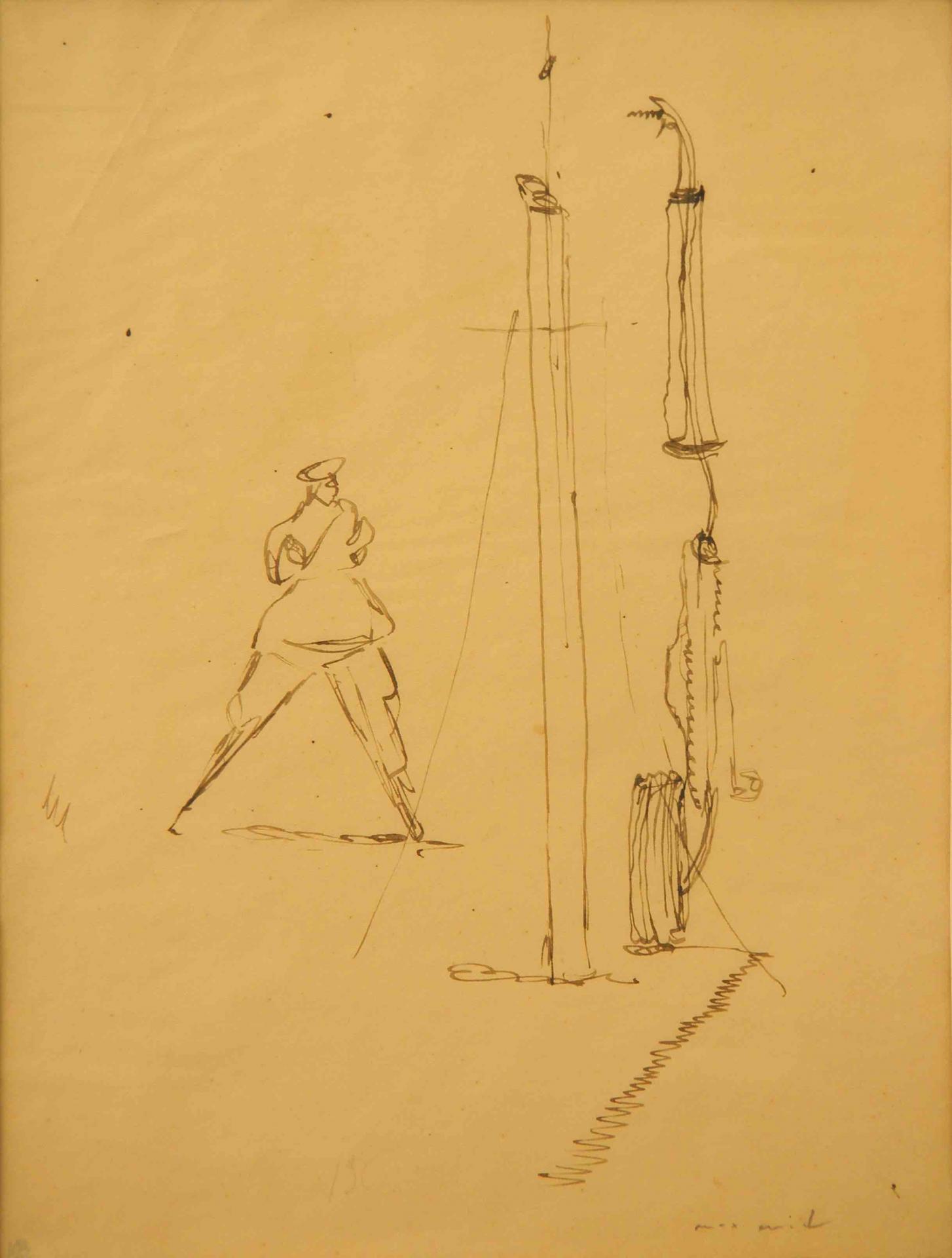 Ernst, le géant et le mat, 1923