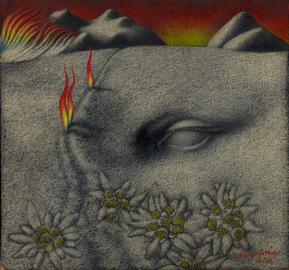 Hugo paysage surrealiste 1936
