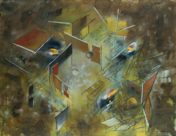Matta, composition, 1960