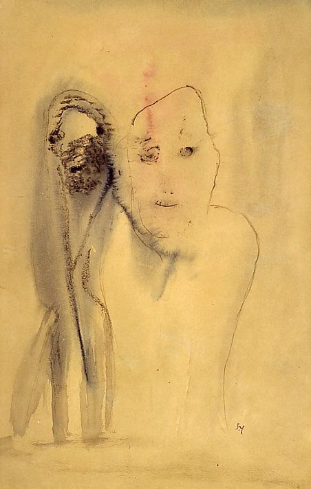Michaux sans titre 1948 49 x 32 cm 1