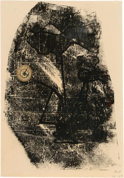 Oppenheim, Sans titre, 1957