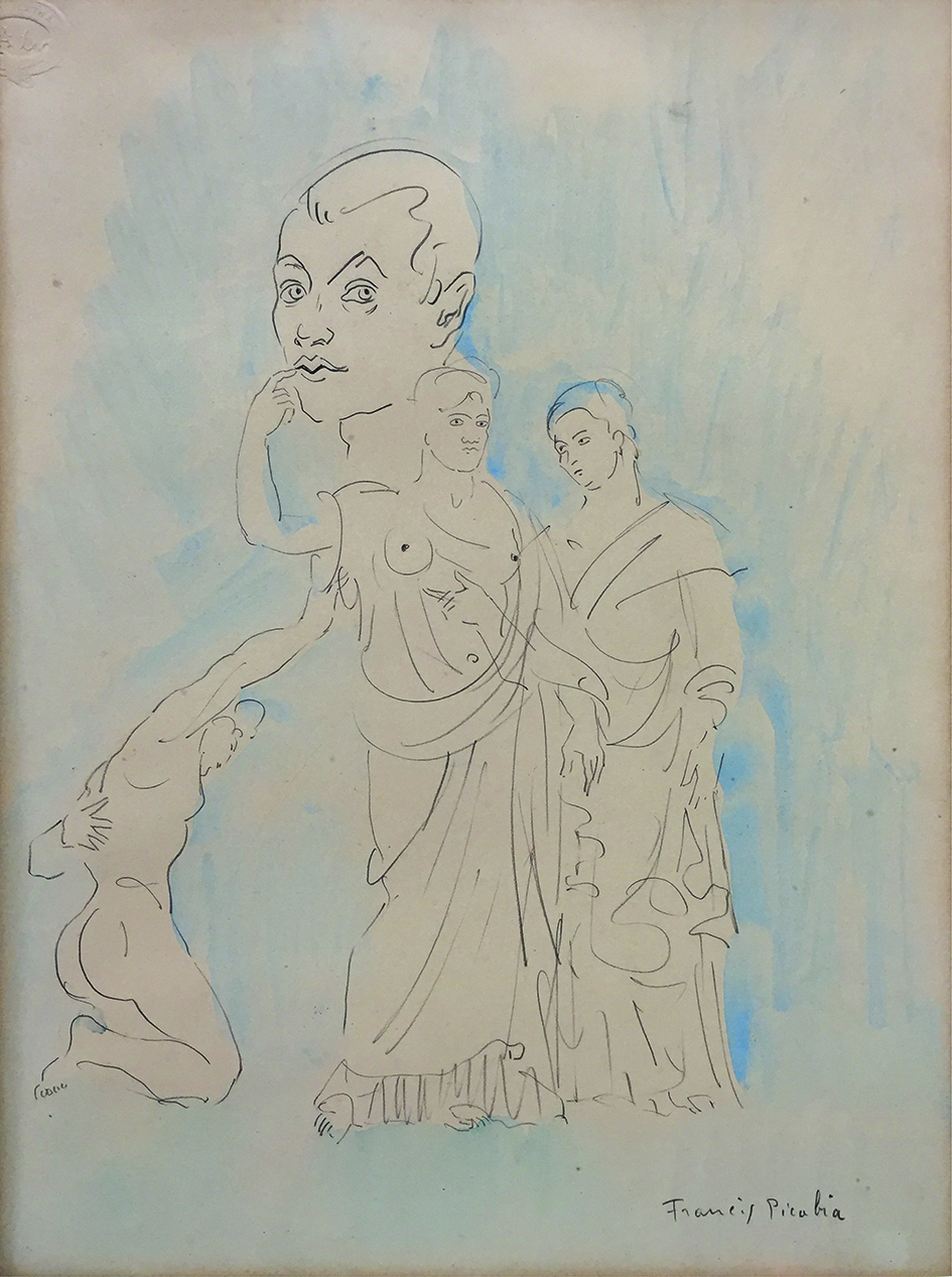 Picabia saluto romano 1913