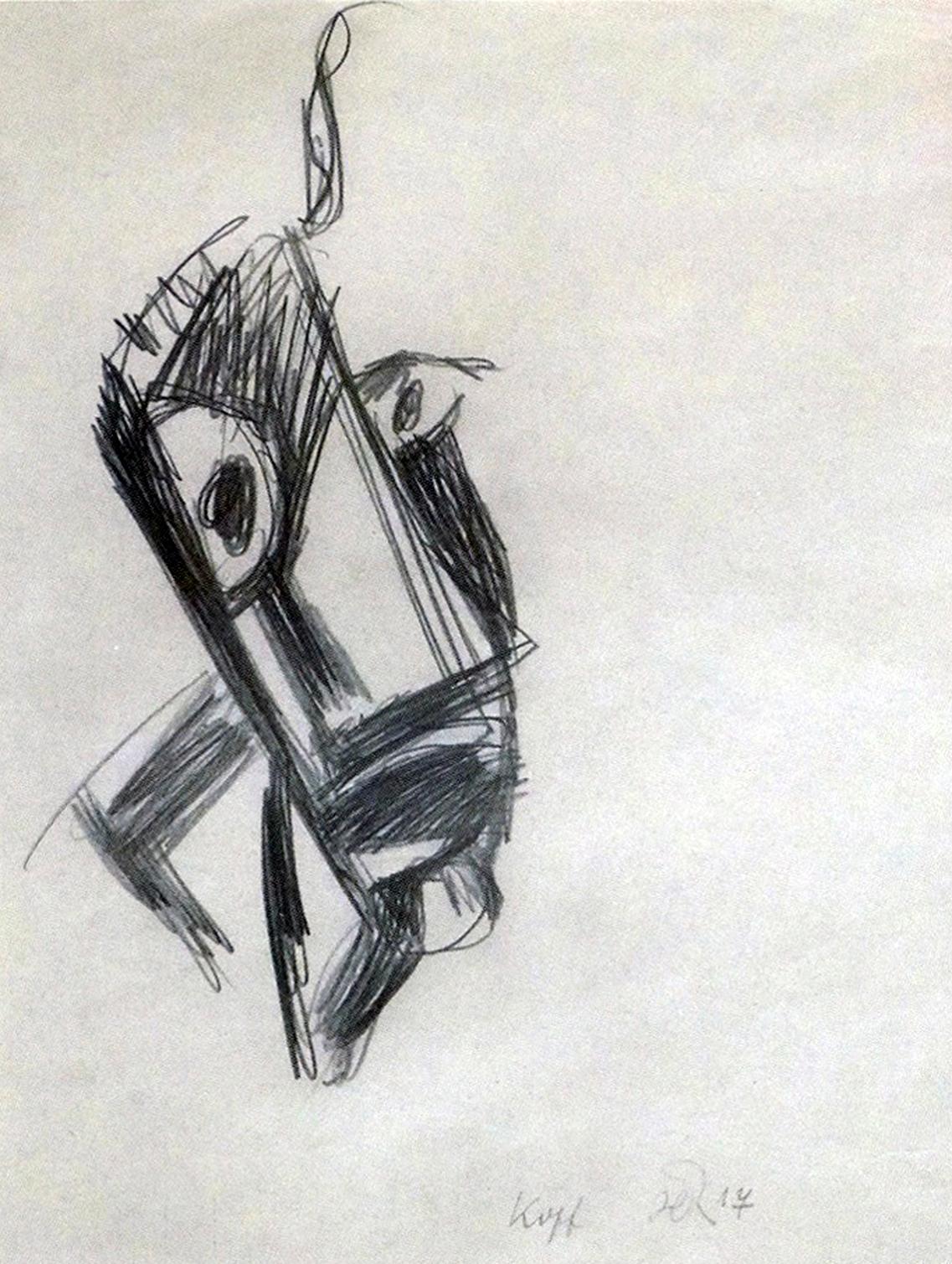 Richter autoportrait 1918